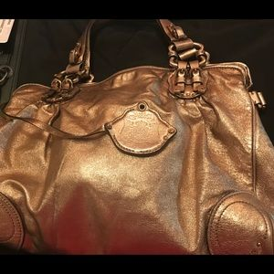 Juicy Couture gold bag
